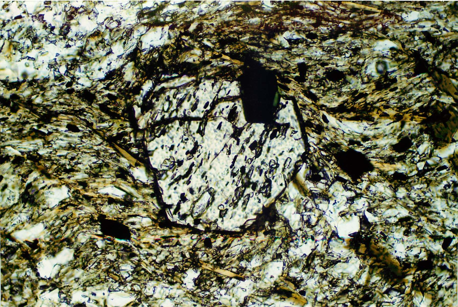 Mineralogy: optical mineralogy in crossed polars | Life in ...