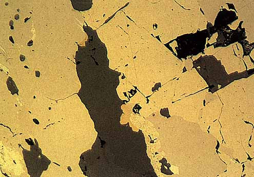 Photomicrograph Tuesday Pyrite