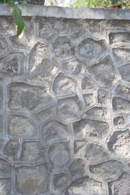 walls made up of basalt were everywhere